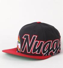 Forty Seven Brand Denver Nuggets Script Big Time Wool Blend Snapback Hat Cap NWT