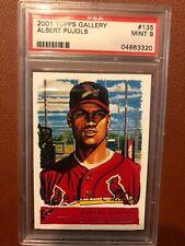 2001 Topps Gallery Albert Pujols St. Louis Cardinals #135 Baseball Card