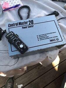 K-HO TRANSFORMER-POWER PACK-MRC CONTROL MASTER 20 POWER CENTER,HO-N-G SCALE