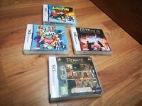 🌟Nintendo DS games bundle🌟DS Lite, XL, DSi, Gameboy, 3DS🌟JAMES POND, SIMS 2🌟