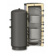 Pufferspeicher mit 2 Wärmetauscher 1000 Liter Heizungswasser Typ TPRR