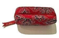 Vera Bradley Eyeglass Zip Case - Red/White - Preowned