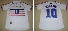 ZINEDINE ZIDANE hand signed autographed 1998 WC France Away Jersey Madrid Legend
