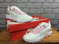 NIKE RENEW ELEMENT 55 WHITE PINK SILVER TRAINERS RRP £115 CHILDRENS LADIES T