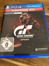 Gran Turismo Sport (Sony PlayStation 4, 2017) TOP Racing Game PS4 wie neu