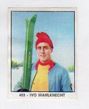 figurina PANINI CAMPIONI DELLO SPORT 1966-67 SCI N. 403 MAHLKNECHT