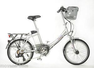 PEDELEC MOVENA AFH20 über 100 km REICHWEITE Klapprad Faltrad 20 Zoll E-Bike