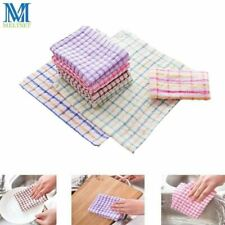 5pcs/Lot Cotton Kitchen Towels Dish Cloth 24x24cm Absorbent Home Cleaning Wiping
