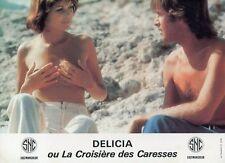 SEXY BETTY VERGES DELICIA OU LA CROISIERE DES CARESSES 1977 LOBBY CARD #2