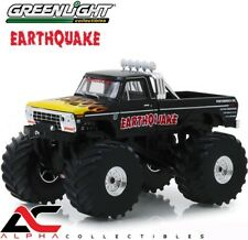"""GREENLIGHT 88022 1:43 1975 FORD F250 66"""" TIRES EARTHQUAKE MONSTER TRUCK"""