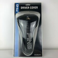 Ping Driver Black Golf Club Head Cover New With Original Packaging