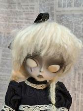 OOAK Hujoo BJD Creepy Gothic Zombie  Unique Face-up Halloween 24cm