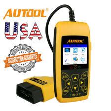 Autool CS520 OBD2 EOBD Can-Bus Code Reader Live Data Diagnostic Scanner Tool US