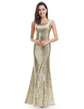 e010cae0a95b Ever-Pretty US Long Sequins Evening Dresses Glitter Sleeveless Party Gowns  07110