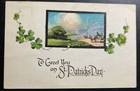1923 Lowbanks Canada Picture Postcard Cover To Dunnville St Patrick's Day