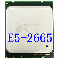Intel Xeon E5-2665 8 core / 16 threads / 2.4Ghz/20MB / 2011 desktop processor
