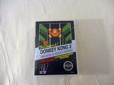 Donkey Kong 3 - Custom NES - Nintendo Case (No Game)