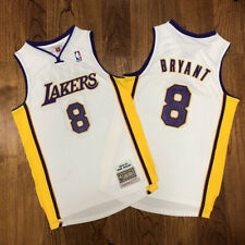 Kobe Bryant #8 Los Angeles Lakers Mitchell Ness White 2003-04 Throwback Jersey
