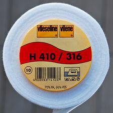 Freudenberg H410 Vlieseline Vilene Bügeleinlage Vlieseinlage 90cm br. H 410