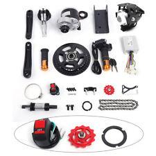 36V 350W Electric Bicycle Mid Drive Motor Conversion Kit Refit E-bike Parts