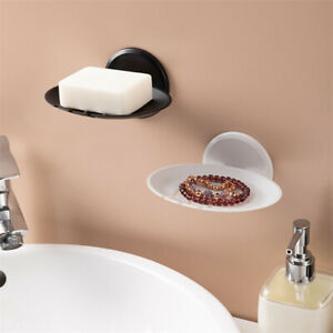 Punch-free Adhesive Bathroom Supplies Wall-Mounted Bathroom Soap Stand Holder