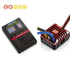 Hobbywing QuicRun 1080 водонепроницаемый матовый 80A/60A ESC + программа карты для гусеничный