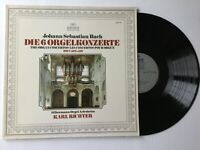 Bach-The Organ Concertos-Karl Richter-1974 MINT vinyl LP Archiv Made in Germany