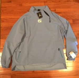 UNC North Carolina Tar Heels Nike Jordan 23 Tech 1/4-Zip Jacket NWT 4XL XXXXL