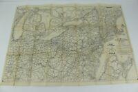 1941 AAA Northeastern States Road Maps New York New Jersey Pennsylvania Kentucky