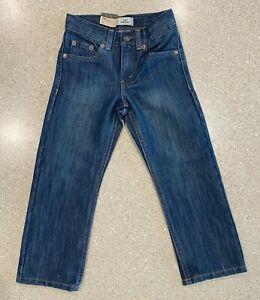 Levis Boys 514 Slim Fit Straight Leg Jeans Boys size 5 Regular Blue Slim Fit $38