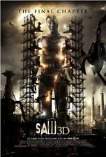 SAW 3D -Orig 27x40 D/S movie poster CARY ELWES- Style A
