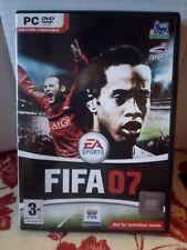 FIFA 07 PC DVD ROM Fußball Spiel EA Sports mit Handbuch Win 2000 Win XP
