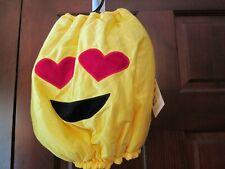 Halloween Doggie Emoji Yellow Costume, Size Medium, NWT