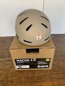 BERN, Macon 2.0 MIPS Multisport Helmet, Matte Sand, Large. NWT
