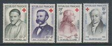 France - 1958 & 1959, Red Cross Fund stamps - M/M - SG 1411/12, 1448/9