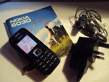 Original hecha en Hungría Nokia 6030 Desbloqueado + Cargador + Manual + Auriculares