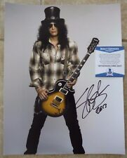 Slash Guns & Roses GNR Signed Autographed 11x14 Photo Beckett Certified #2