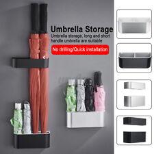 Household Umbrella Rain Free Drain Stand Storage Holder Rack Easy Install New