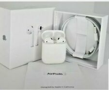 Apple AirPods 2nd Generation with Charging Case - White . Refurbished