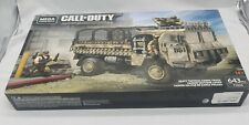 NEW IN BOX MEGA CONSTRUX CALL OF DUTY HEAVY TACTICAL CARGO TRUCK FVG06 643 PC
