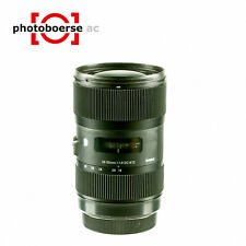 Sigma tipo dc 18 - 35mm f/1, 8 para Canon EF-S