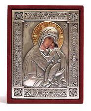 Icona Madonna di Fedorov icona argento 925//1000