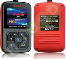 iCarsoft i810 OBD2 Scanner - Rot/Schwarz