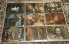 Lord Of The Rings Trilogy Trading Cards