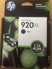 HP Genuine 920XL Black Ink NIB (expired)Officejet 6000 6500 7000 7500 7500A