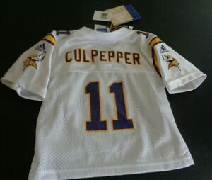 DAUNTE CULPEPPER Minnesota VIKINGS Football ADIDAS Infant 24M Replica NEW Jersey