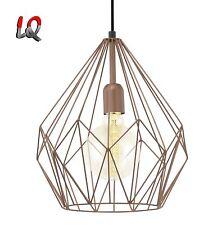 Eglo Carlton 49258 Leuchte Vintage Hängeleuchte Pendelleuchte für GL oder LED