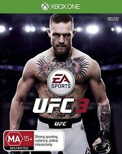 EA Sports UFC 3 Conor McGregor Ultimate Fighting Sports Game Microsoft XBOX One