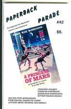 PAPERBACK PARADE #42 rare US book collector mag ERB Tarzan Walter Popp noir gga