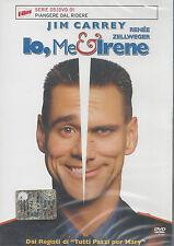 Dvd **IO ME E IRENE** con Jim Carrey Renée Zellweger nuovo 2000